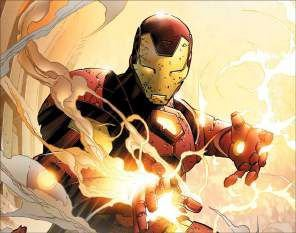 Quadro de Metal 26x19 Iron Man