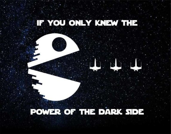 Quadro de Metal 26x19 Star Wars - If You Only Knew The Power Of The Dark Side