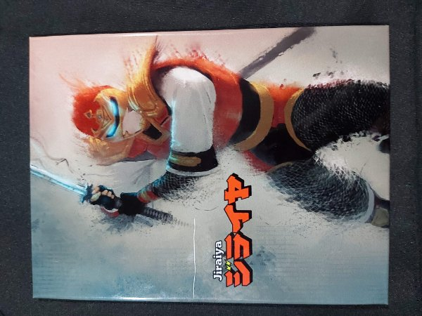 Quadro de Metal 26x19 Jiraiya: O Ninja