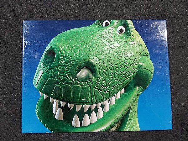Quadro de Metal 26x19 Toy Story - Rex