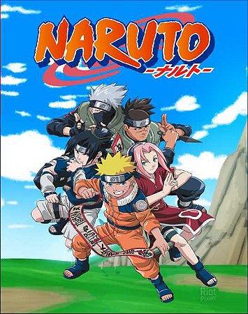 Quadro de Metal 40x60 Naruto