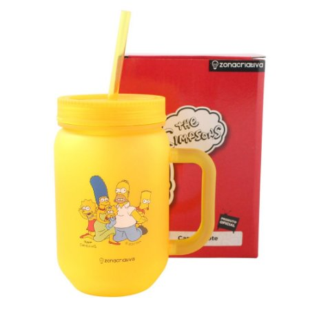 Caneca Pote 450ml Simpsons - Família