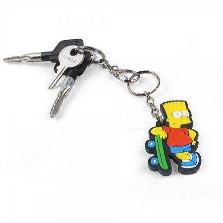 Chaveiro Simpsons - Bart Skate