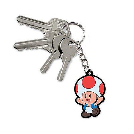 Chaveiro Super Mario - Toad