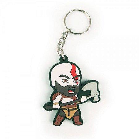 Chaveiro God of War - Kratos Machado