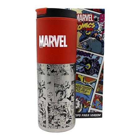 Copo para Viagem Smart 500ml Marvel - Comics