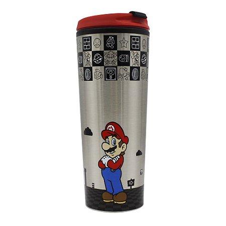 Copo para Viagem 450ml Super Mario