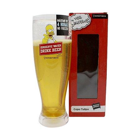Tulipa de Chopp 450ml Simpsons - Drink Beer