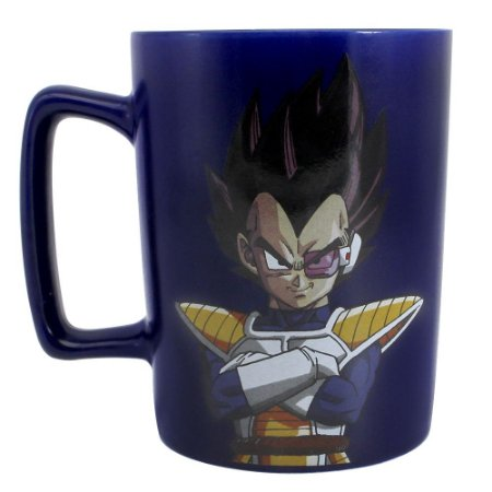 Caneca com Alça Quadrada 500ml Dragon Ball Z - Vegeta
