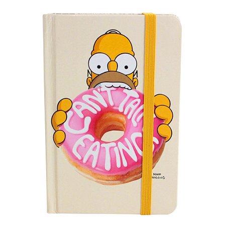 Caderno de Anotações Simpsons - Homer Donuts