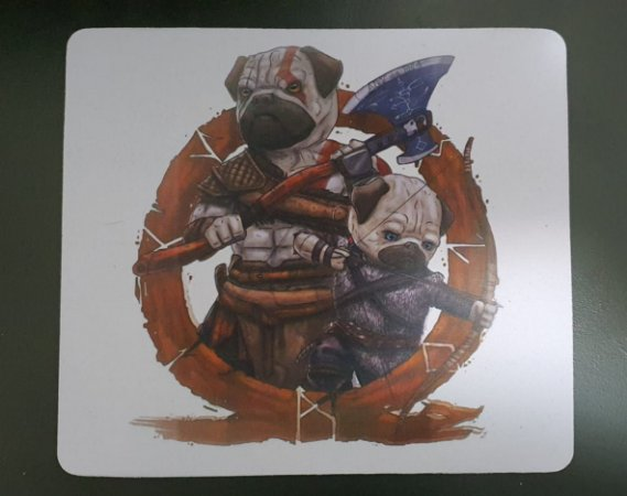 Mousepad God of War - Dogs