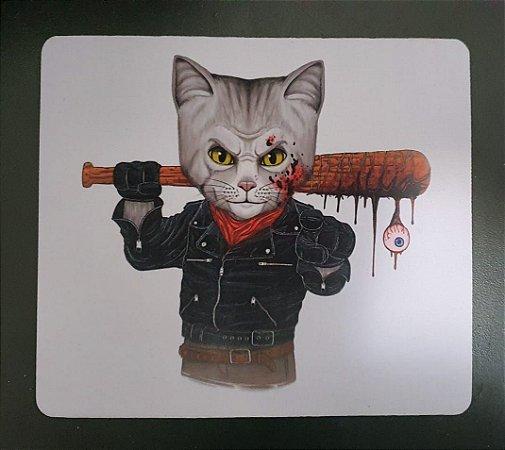 Mousepad The Walking Dead - Negan Cat