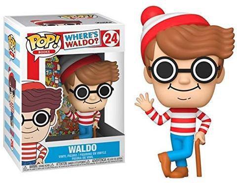 Funko Pop Onde Está o Wally - Waldo 24