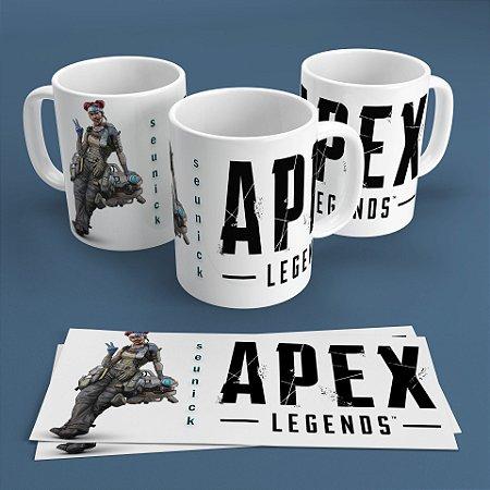 Caneca Personalizada 300ml Apex Legends Nickname - Lifeline