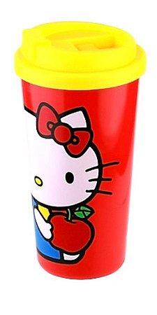 Copo para Viagem 500ml Hello Kitty - Maçã