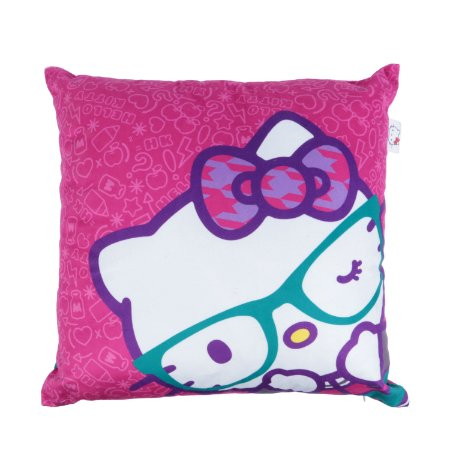 Capa de Almofada 45cm x 45cm Hello Kitty - Glasses
