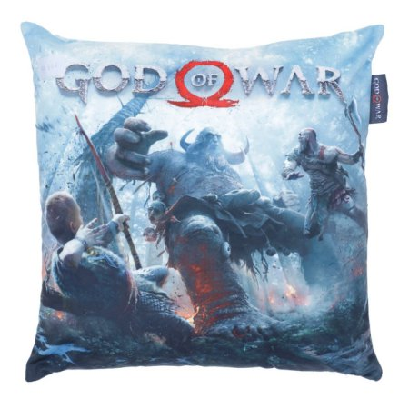 Capa de Almofada 45cm x 45cm God of War - Fight
