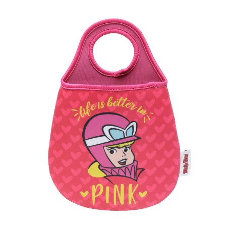 Lixinho de Carro Penelope Charmosa - Life is Better in Pink