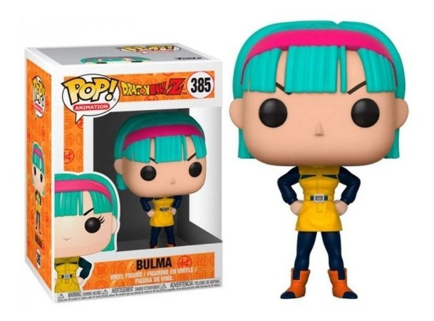 Funko Pop Dragon Ball Z - Bulma (385)