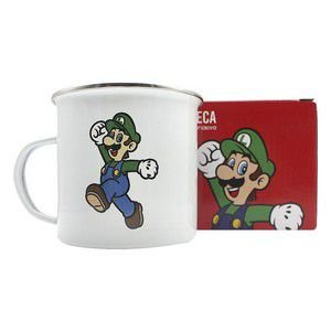 Caneca Metal Agata 500ml Super Mario - Luigi