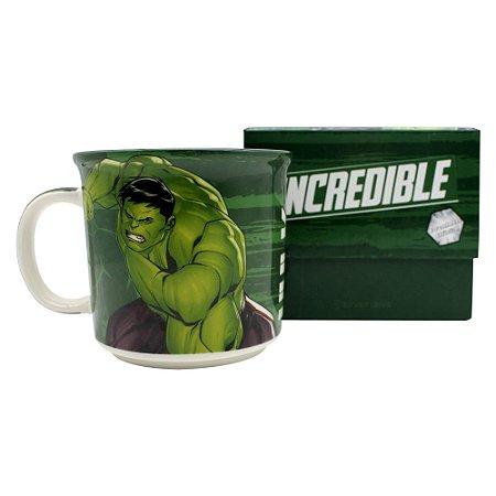 Caneca Tom 350ml Marvel - Hulk