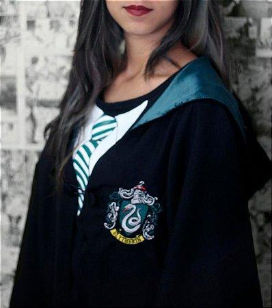 Capa de Harry Potter - Sonserina