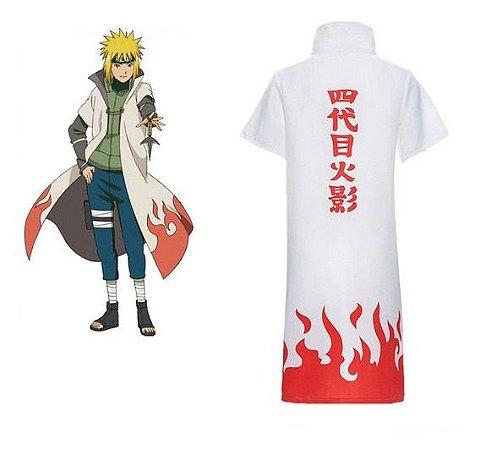 Manto Naruto - Quarto Hokage Minato