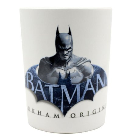 Caneca com Alça Quadrada 500ml Batman Arkham Origins