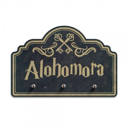 Porta-chaves Harry Potter - Alohomora Chaves