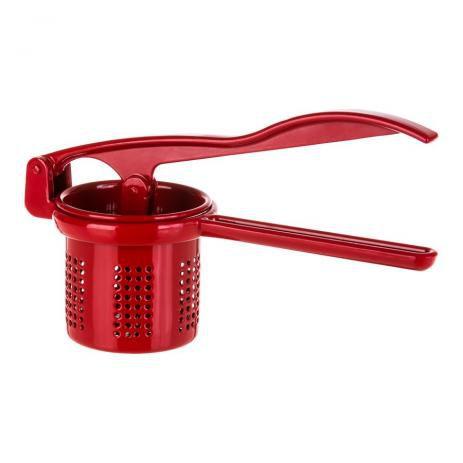 Espremedor de Batata - Médio - Alumínio Colors - Vermelho - Fogo Azul