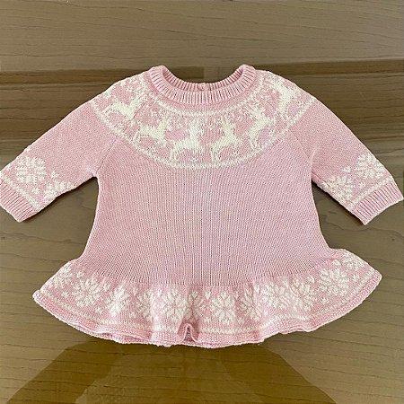 Vestido Lãzinha GAP - 0 a 3 meses