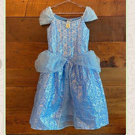 Vestido Cinderela - 7 a 8 anos