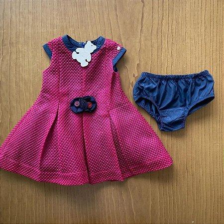 Vestido Paola Bimbi - 9 a 12 meses