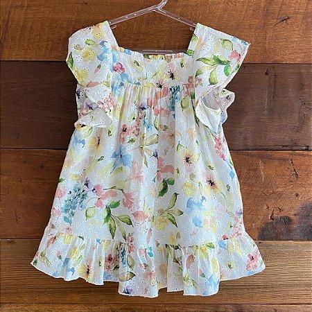 Vestido Zara - 3 a 4 anos