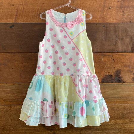 Vestido Roberto cavalli - 6 anos