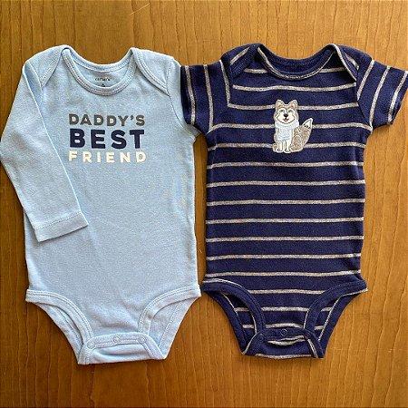 2 Body's Carter's - 6 meses