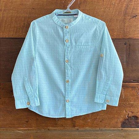 Camisa Zara - 2 a 3 anos