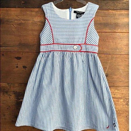 Vestido Náutica - 5 anos