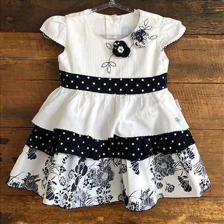 Vestido Anjos Baby - 9-12 meses