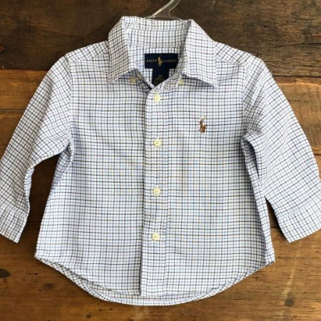 Camisa Ralph Lauren - 9 meses