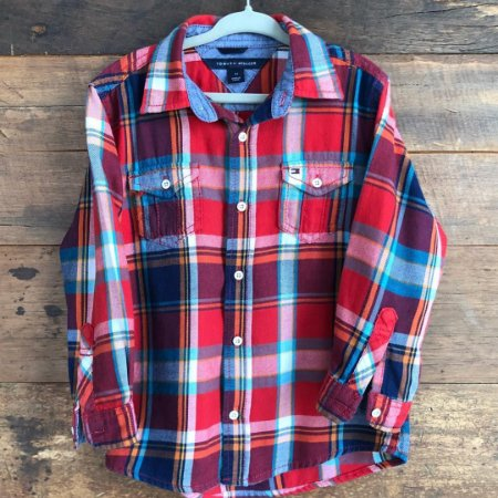 Camisa Tommy Hilfiger - 3 anos