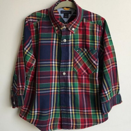 Camisa Tommy Hilfiger - 2 anos