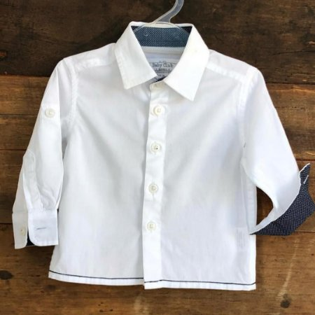 Camisa Baby Club - 6-9 meses