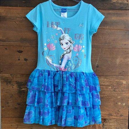 Vestido Disney - 7 a 8 anos