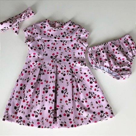 Vestido Paola Bimbi - 12 meses