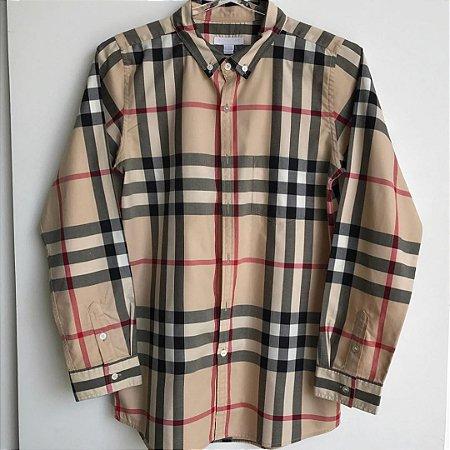 Camisa Burberry - 14 anos