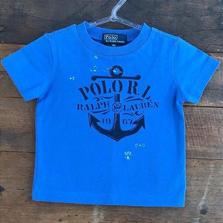 Camiseta Ralph Lauren - 9 meses