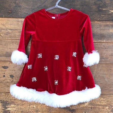 Vestido + Touca Bonnie Baby - 6 a 9 meses