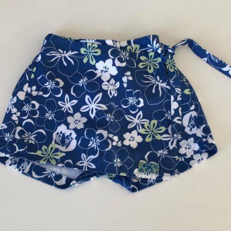 Saia Shorts Green - 12 a 18 Meses