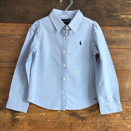 Camisa Ralph Lauren - 6 anos